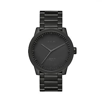 Leff Amsterdam LT71102 S38 Black Tube Wristwatch