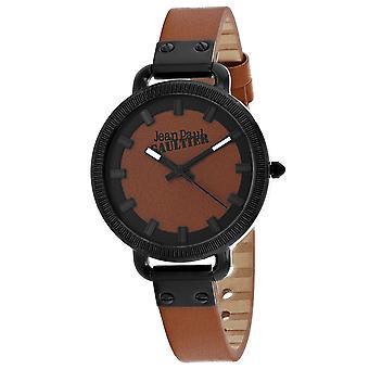 Jean Paul Gaultier Women's Index Brown Dial Watch - 8504314