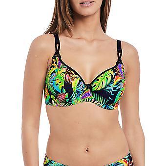 Electro Beach Plunge Bikini Top
