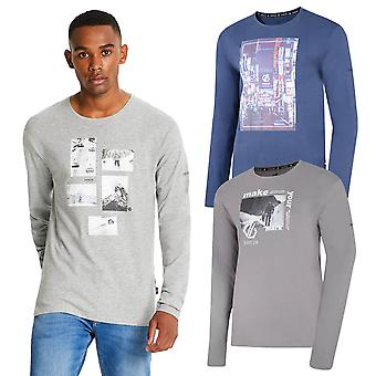 Dare 2b Homme Industrie Tee Long Sleeve Graphic T-Shirt