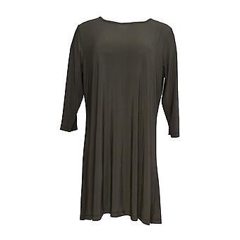 Attitudes by Renee Petite Dress XSP Wardrobe Warrior Gray A308329