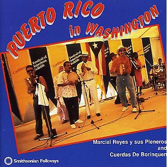 Reyes, Marcial Y Sus Pleneros D - Puerto Rico in Washington [CD] USA import