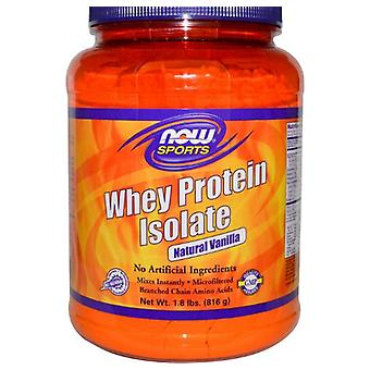 Whey Protein Isolate Powder Natural Vanilla (816 g) - Now Foods