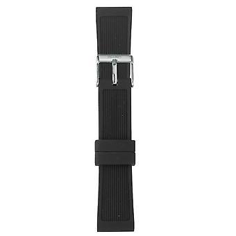 Watch I Am The Watch IAM-206 - Black Steel Loop Bracelet / Medium 18 mm