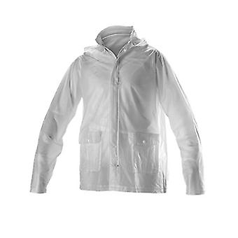 Alleson Cheerleading Rain Jacket, Large, Clear, Size Large