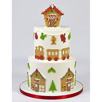 FMM Cool Christmas Xmas Tappit Set Sugarcraft Cutter