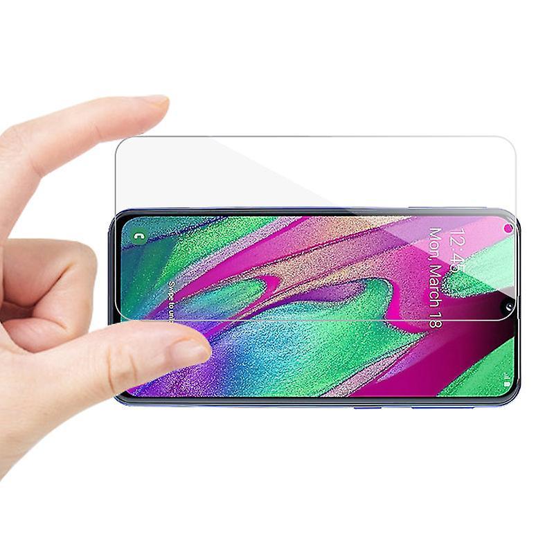 iCoverCase | Samsung Galaxy A50 | 2-Pack Skärmskydd  Härdat Glas