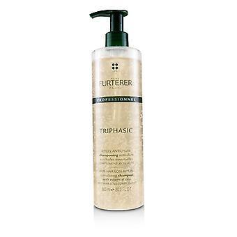 Rene Furterer Trifálico anti-perda de cabelo ritual estimulante shampoo (salão de produtos)-600ml/20.2 oz