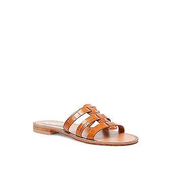 Steve Madden Womens Tammey Cuir Open Toe Casual Slide Sandals
