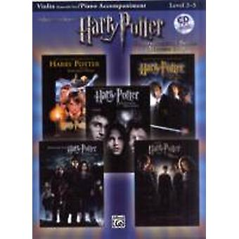 Harry Potter Instrumental Solos for Strings Movies 15 Violin Book amp CD by Edited by Bill Galliford