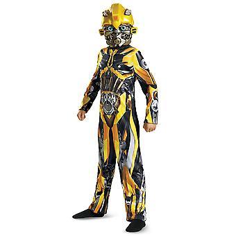 Bumblebee klassiske transformere den sidste ridder film Robot drenge kostume