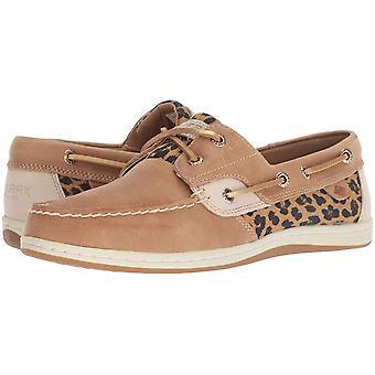 Sperry Women's Koifish Cheetah Boat Shoe