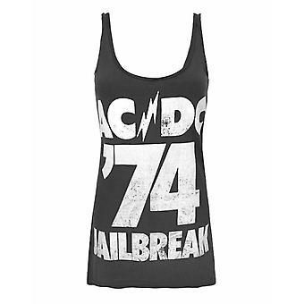 Amplified AC/DC Comics Jailbreak '74 Women's Vest