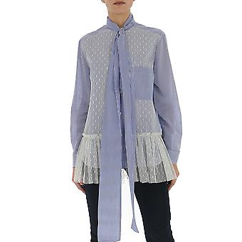 Rood Valentino Tr3abd104sde34 Women's Light Blue Cotton Shirt