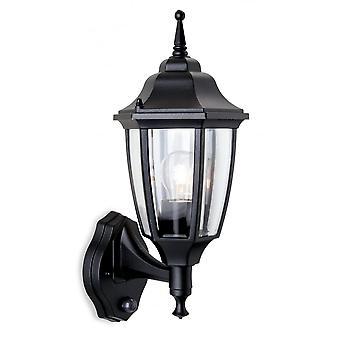 Firstlight Jaded Traditional Black Coach Outdoor Garden Lantern