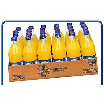 Orangina Mousserande Citrus-( 473 Ml X 24 Flaskor)