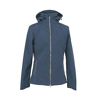 Shires Aubrion Finchley Womens Softshell Jas - Navy Blue