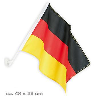 Drapeau de voiture ventilateur article pour fans partie Allemagne