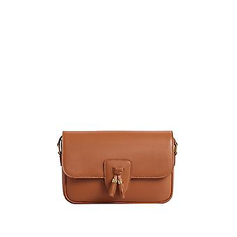 Céline 190483bo804ca Women's Brown Leather Shoulder Bag
