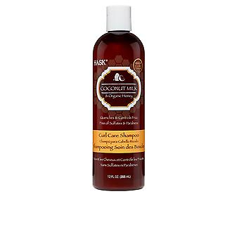 Hask Kokosmelk en honing curl care shampoo 355 ml Unisex