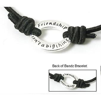 TOC Bandz Friendship Isn't Big Things,Its A Million Little Things 6Inch Bracelet