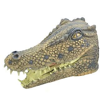 Krokodil maskeren Rubber O/hoofd