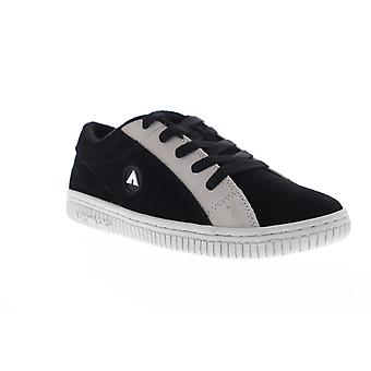 Airwalk Random Férfi Fekete Velúr Low Top Athletic Surf Skate Cipő