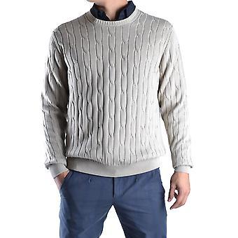 Dalmine Ezbc252005 Men's Beige Cotton Sweater