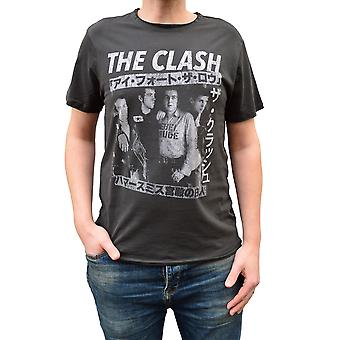 Amplified The Clash Tour Poster Crew Neck T-Shirt
