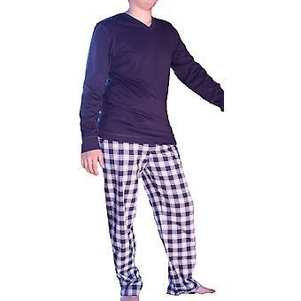 Herren JOCKEY Check & Plain Cotton Pyjama 52030-52311
