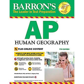 Barron's AP Human Geography with Online Tests by Meredith Marsh - Ph.