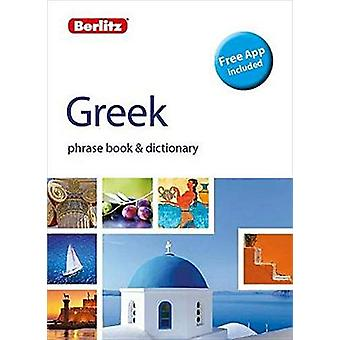 Berlitz Phrasebook & Dictionary Greek(Bilingual dictionary) by Be
