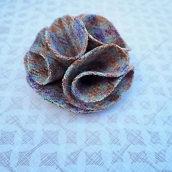 Children's flower hair bobble loch heather