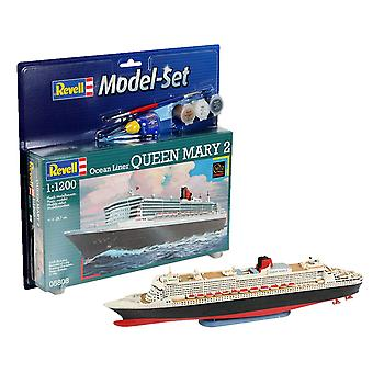 Revell 65808 1:1200 Queen Mary 2 Kit modelo plástico