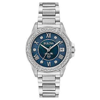 Bulova 96R215 Marine Star Diamond women's watch 32 mm