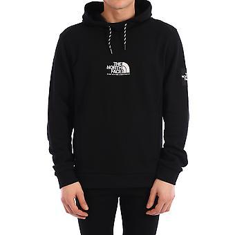 The North Face Nf0a3xy3jk31 Men's Black Cotton Sweatshirt