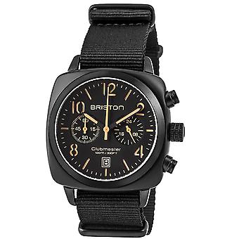 Briston Clubmaster Classic Quartz Chronograph Mens Watch 13140.PBAM.B.4.NB