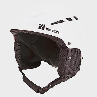 New The Edge Men's Yukio Snow Helmet White