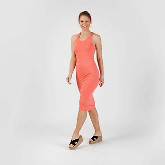 Vestido Coral Maxi de Genebra