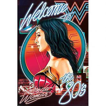 Wonder Woman Poster Welkom in de jaren 80 94