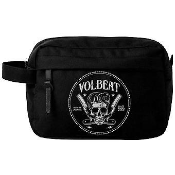 Volbeat umývanie taška Barber Pocket Band logo nový oficiálny čierny