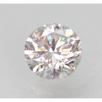認定済み 1.00 カラット F VVS2 ラウンド ブリリアント エンハンスナチュラル ダイヤモンド 6.13mm 3VG