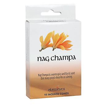 Quelque chose de différent Éléments Nag Champa Cônes d'encens