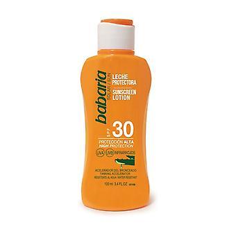 SPF 30 كريم الشمس محلول مع الألوة فيرا 100 مل