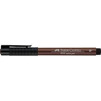 Faber Castell Indian Ink Artist Pen Brush 169 Caput Mortuum
