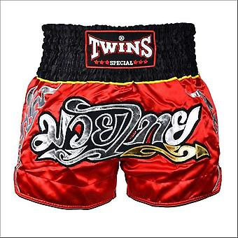 Twins special red-black muaythai shorts
