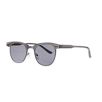 Sunglasses Unisex Cat.3 matt grey/smoke (aml19011c)