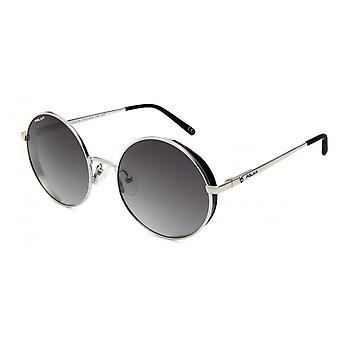 Sunglasses Unisex Beverly Polarized Silver/Black