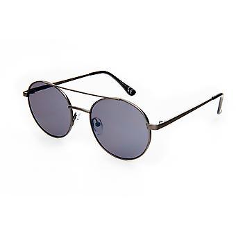 نظارات شمسية Unisex Cat.3 فضة / دخان (19-093)
