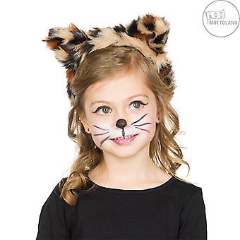 Bandă leopard pentru urechi de copii urechi de blană urechi leopard